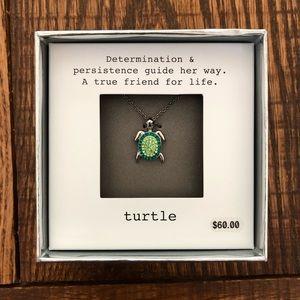 Turtle Friendship Necklace